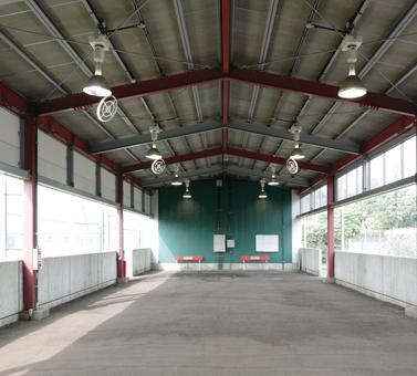 投球練習場写真